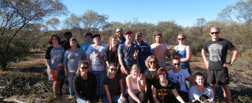 Gunduwa Youth Leaders at Charles Darwin Reserve